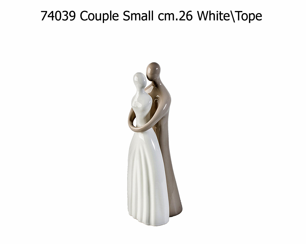 COUPLE SMALL CM26 K0302025 TOPE WHITE A.D.