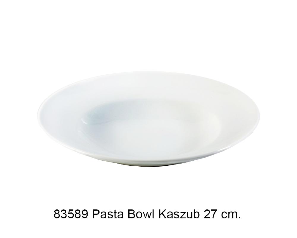 PASTA BOWL 27CM.KASZUB BIANCO